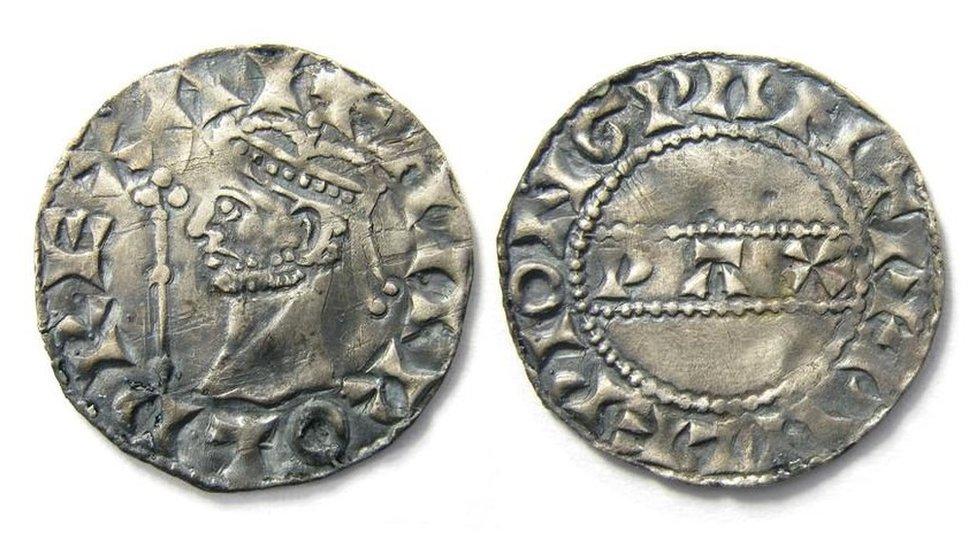 Harold II type 1 penny from 1066