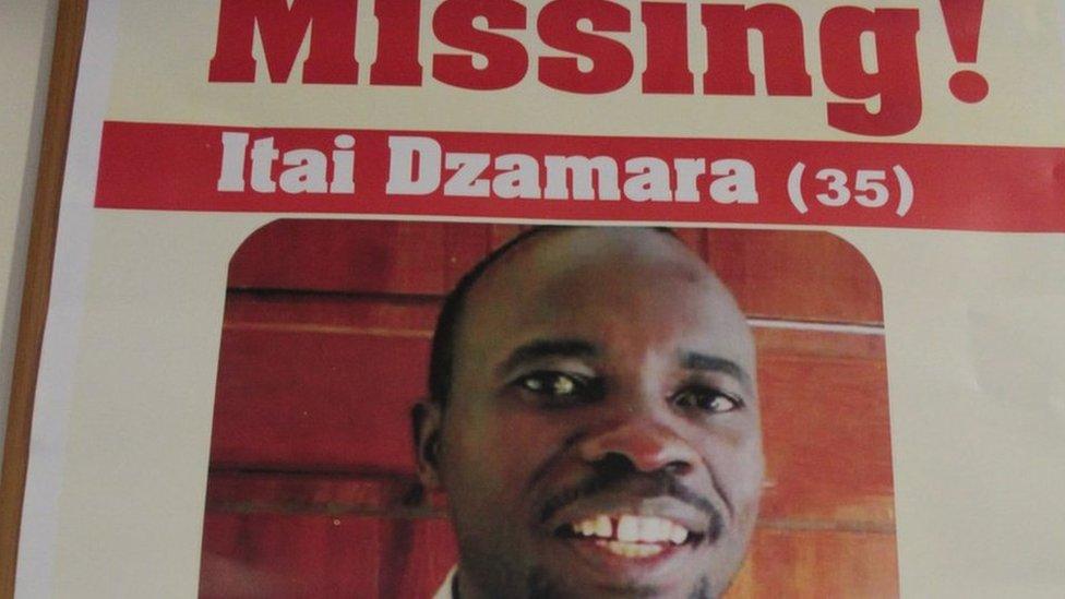 Itai Dzamara: The man who stood up to Zimbabwe's Robert Mugabe and vanished