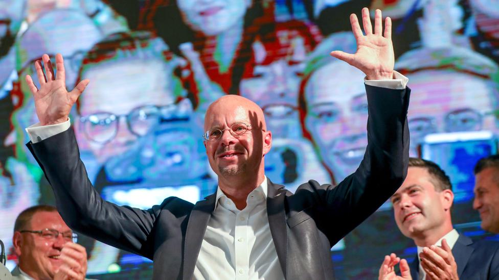 AfD leader in Brandenburg, Andreas Kalbitz