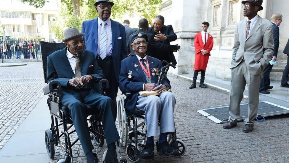 Windrush anniversary celebrated at Westminster Abbey