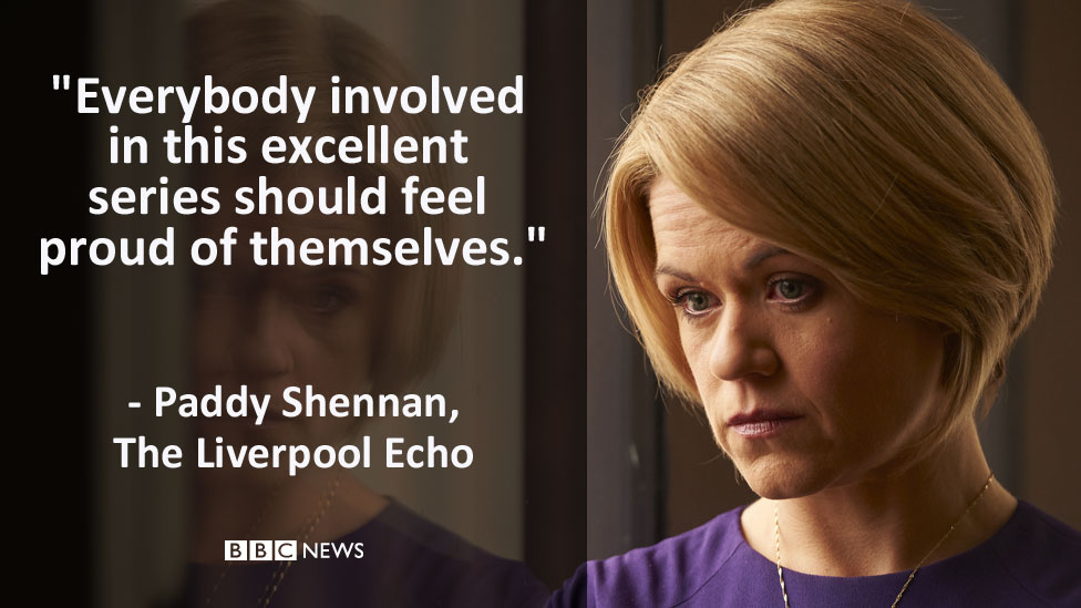 """The Liverpool Echo's review: """"Everybody involved in this excellent series should feel proud of themselves."""""""