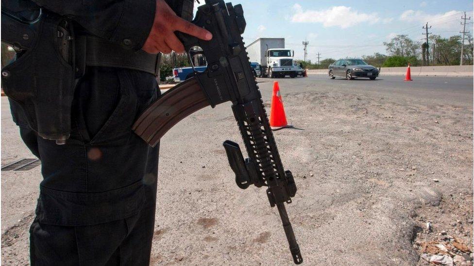 Soldado en Reynosa