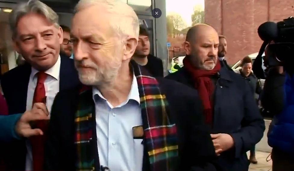 Corbyn in Glasgow