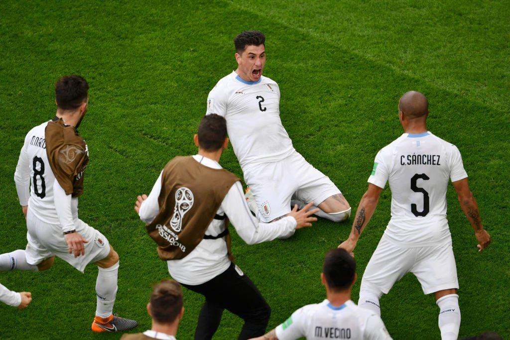 Uruguay fue la primera selección sudamericana en jugar en Rusia 2018 y la única que pudo conseguir la victoria.