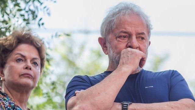 Lula y Dilma Rousseauf