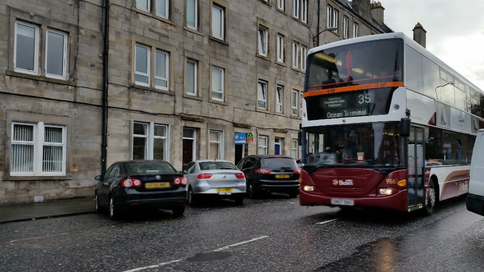 Henry was said to have taken the 35 bus to Ocean Terminal in Leith