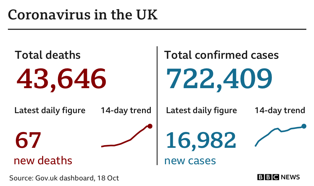 Coronavirus: UK facing 'tough' Christmas, Sage scientist warns thumbnail