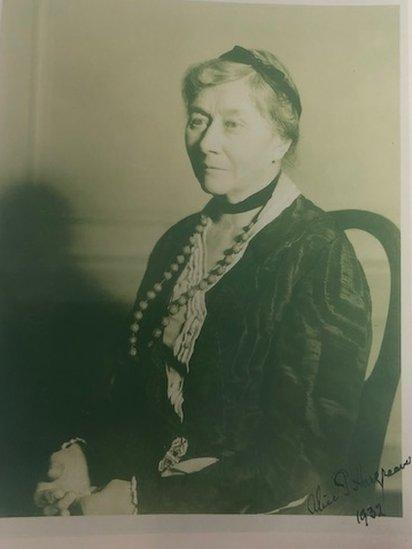 Alice Liddell en 1932.