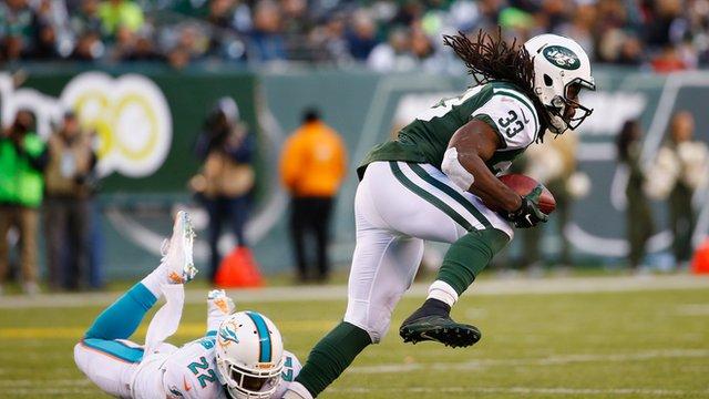 New York Jets' Chris Ivory