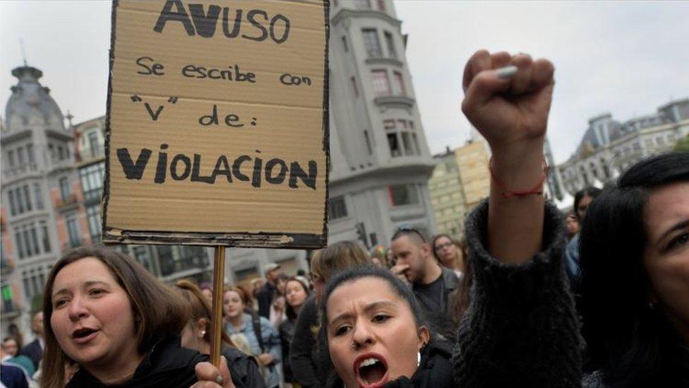 Protesta en Oviedo