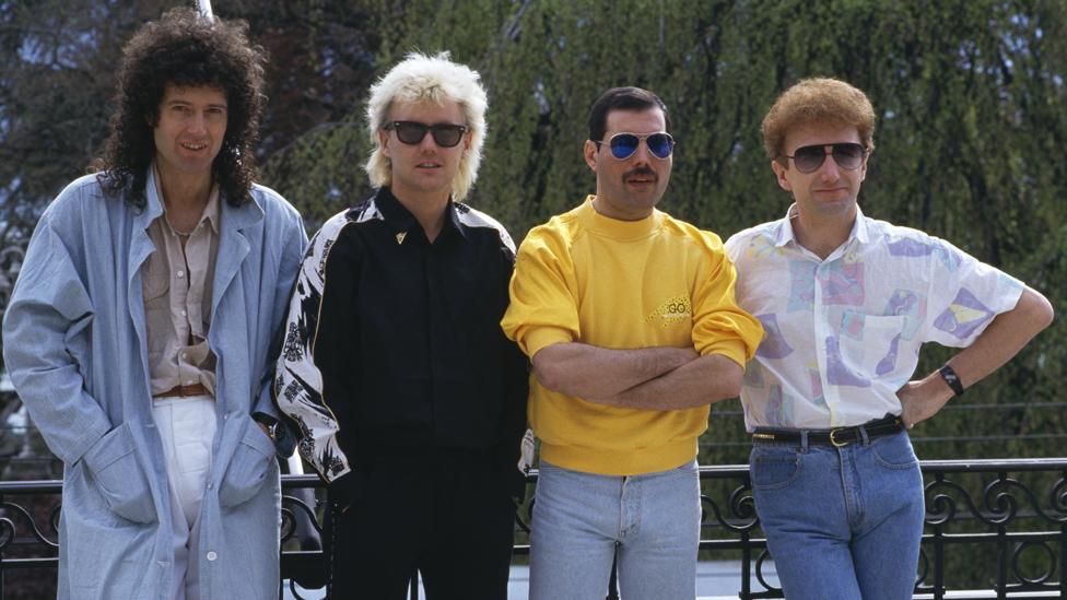 Queen en los año 80