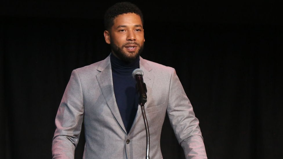 Jussie Smollett: Suspects held over attack on actor released