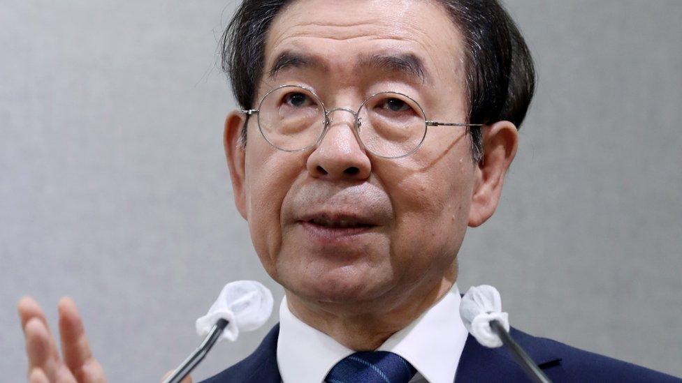 Alcalder de Seúl Park Won-soon