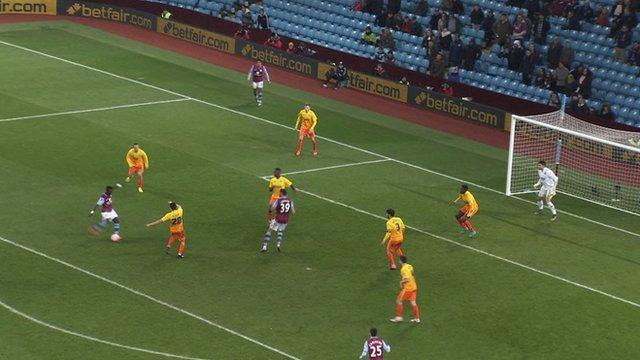 FA cup: Aston Villa 2 (Gueye 90') Wycombe 0
