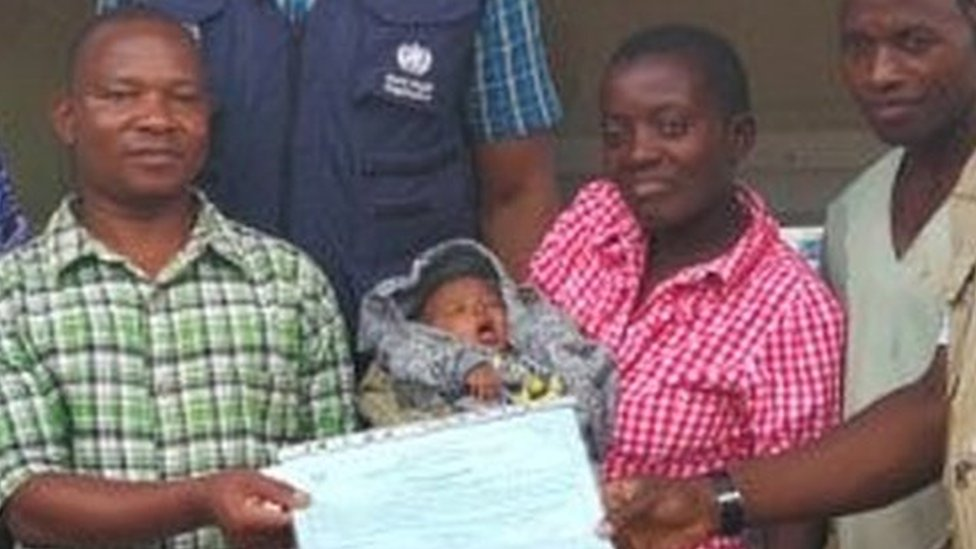 'Miracle' six-day-old baby survives Ebola