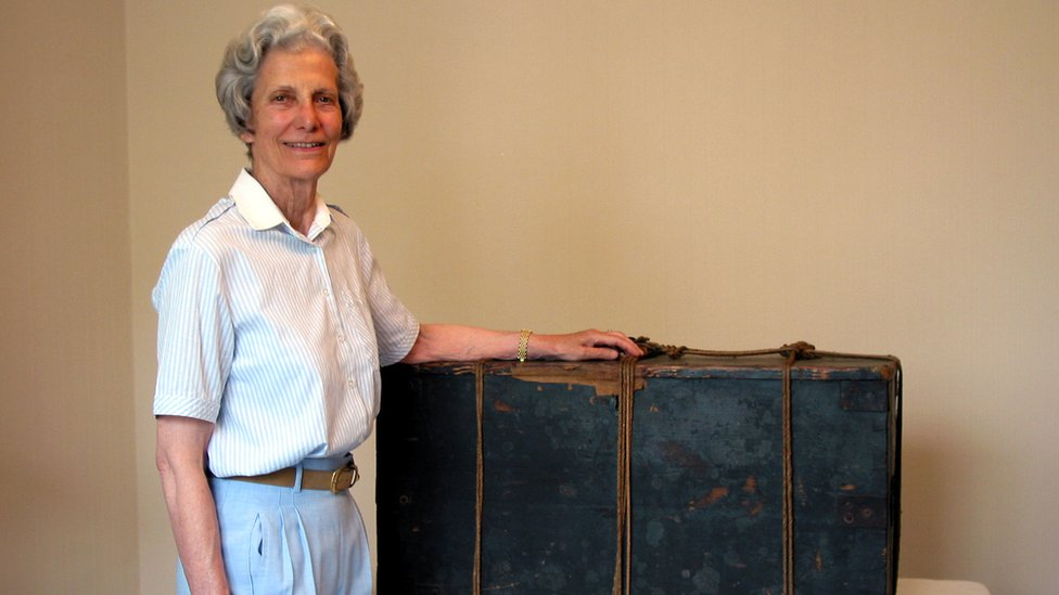 Ruth Klein and Southcott's box