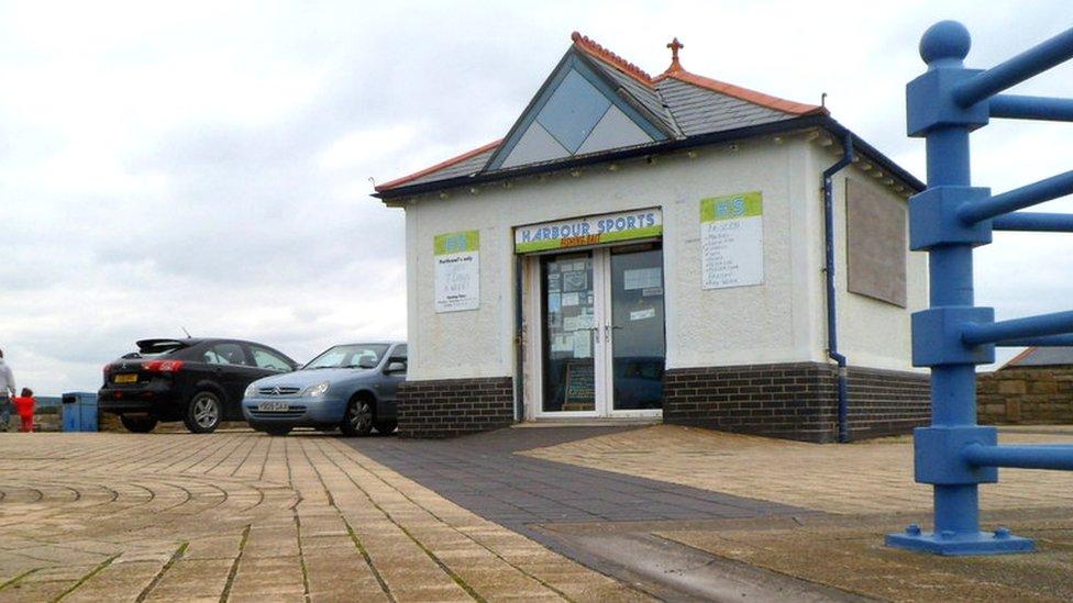 Porthcawl fishing bait shop plan to hook tourists