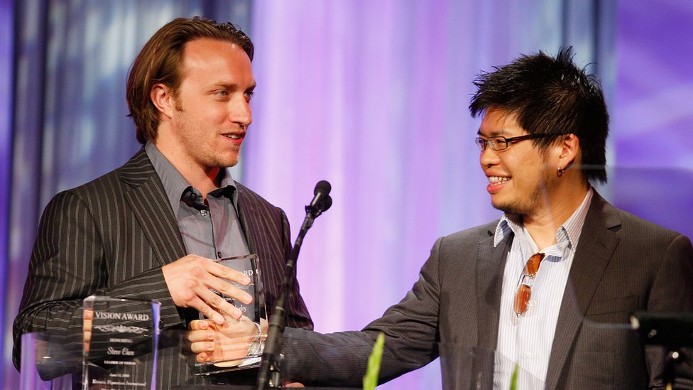 Chad Hurley y Steve Chen