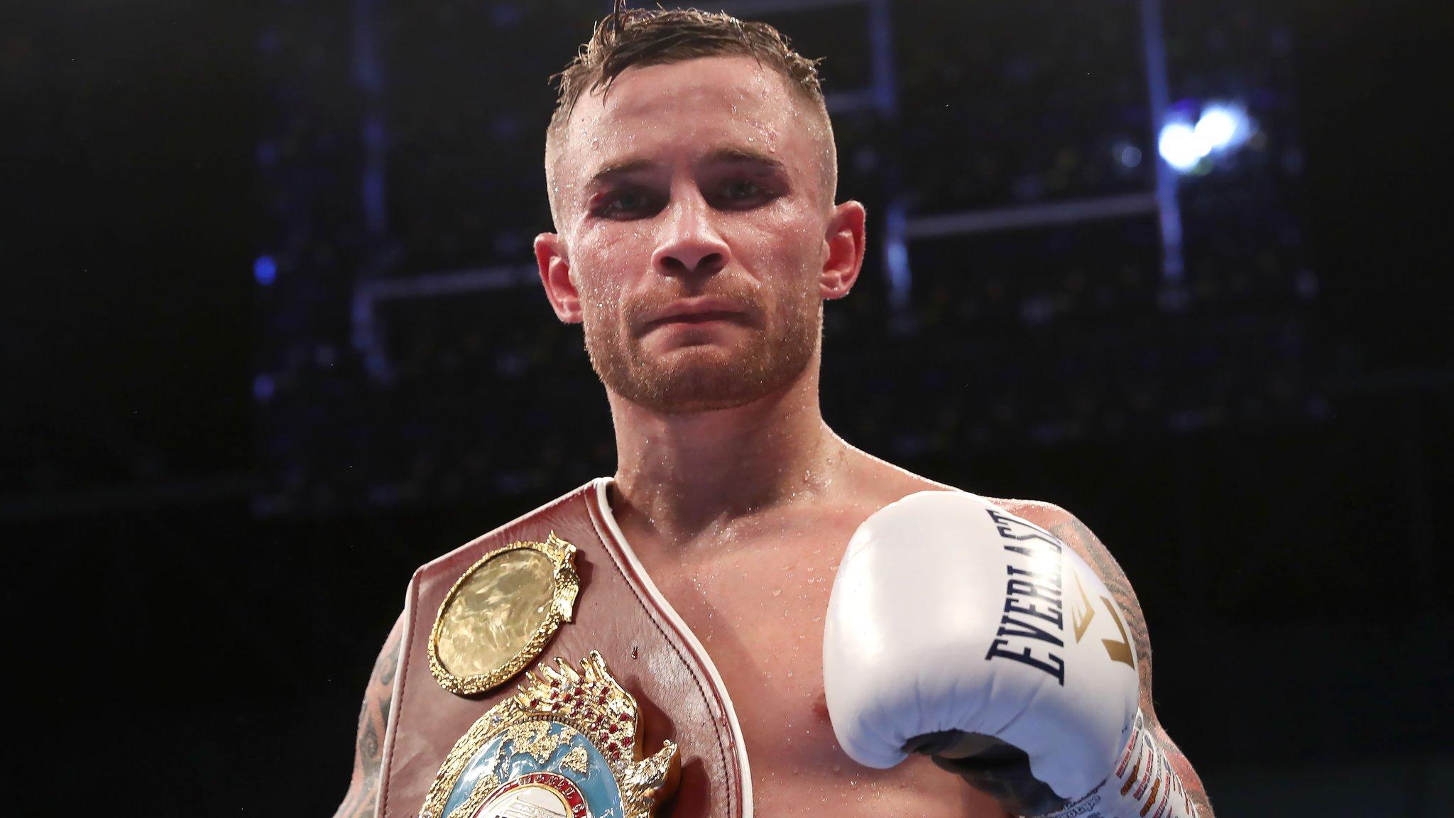 Carl Frampton: Belfast boxer keeps a 'cool head' to deliver Windsor Park victory