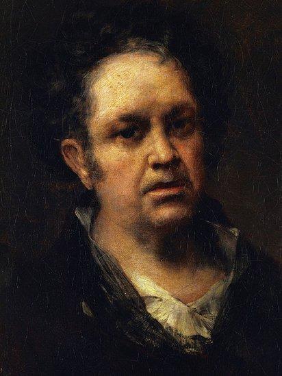 Autorretrato de Francisco de Goya