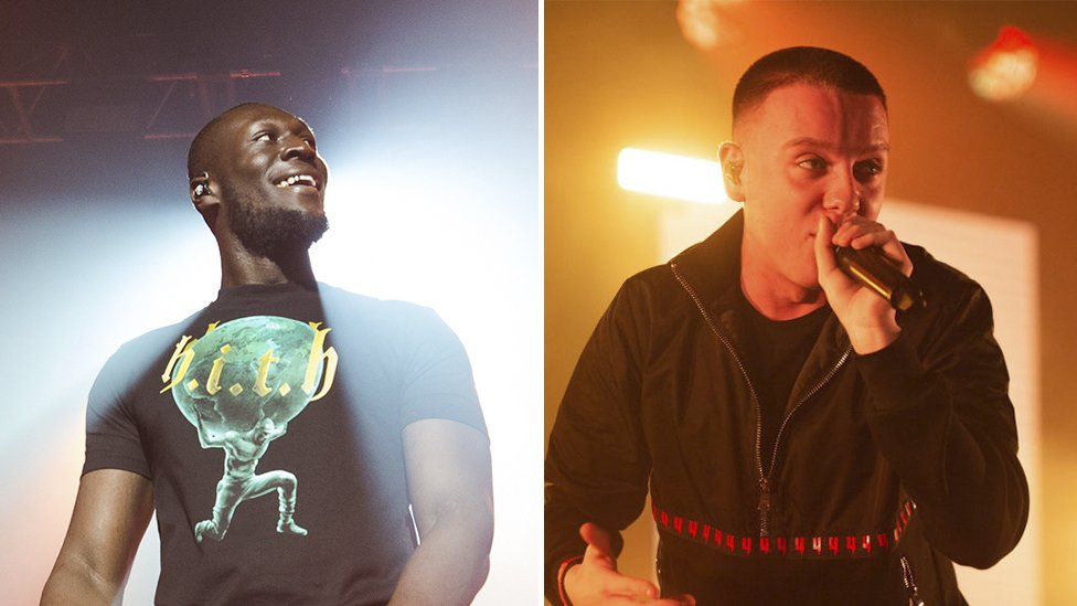 Stormzy and Aitch