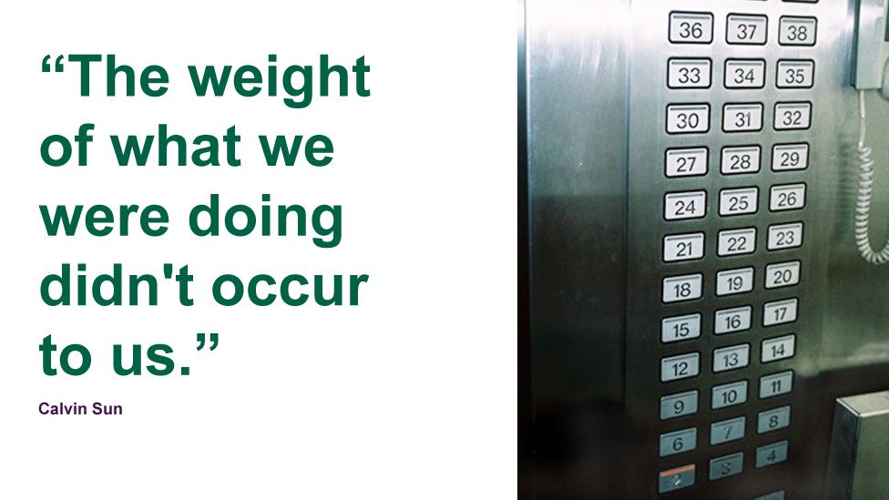 Fifth floor lift