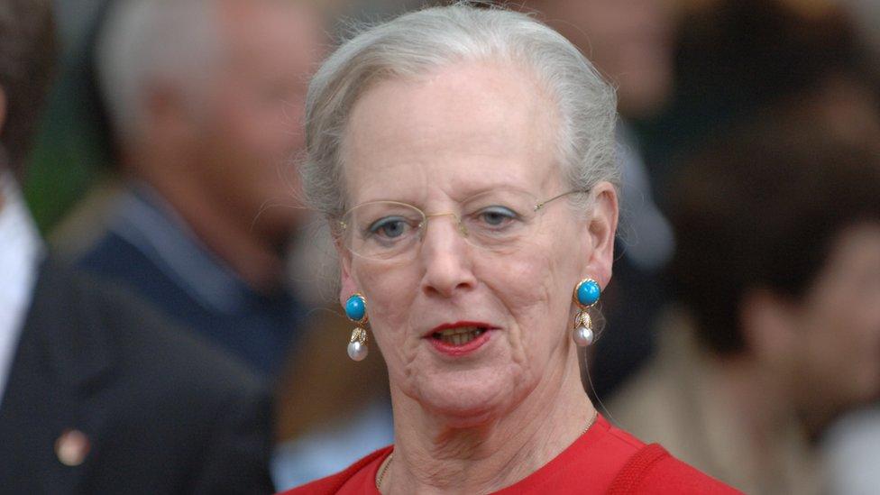 Reina Margarita II de Dinamarca.