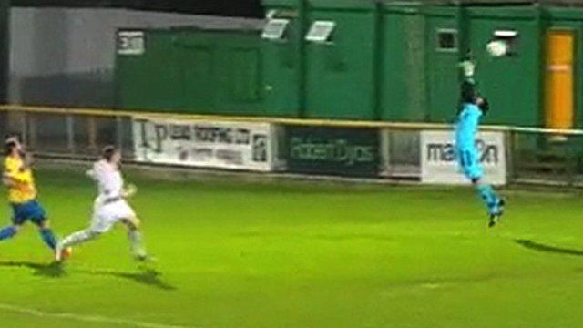 Thurrock FC score own goal