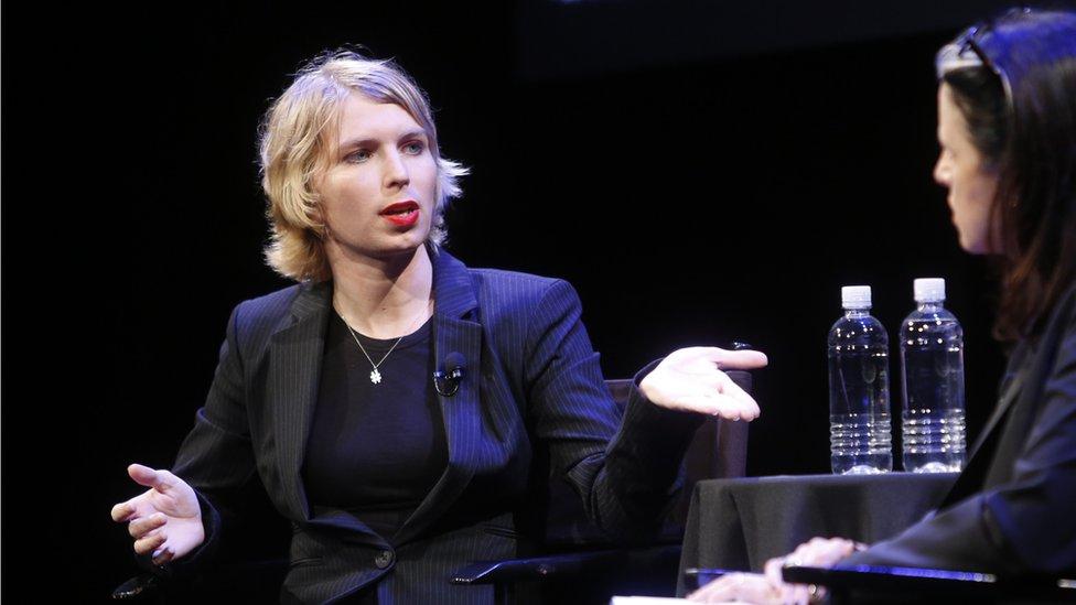 Chelsea Manning en septiembre de 2017.