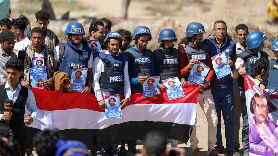 صحفيون ينددون بمقتل المراسل أديب الجناني