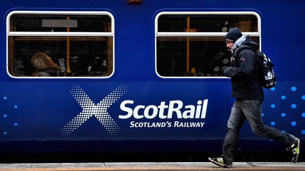 Rail delays after person struck by train in Glasgow