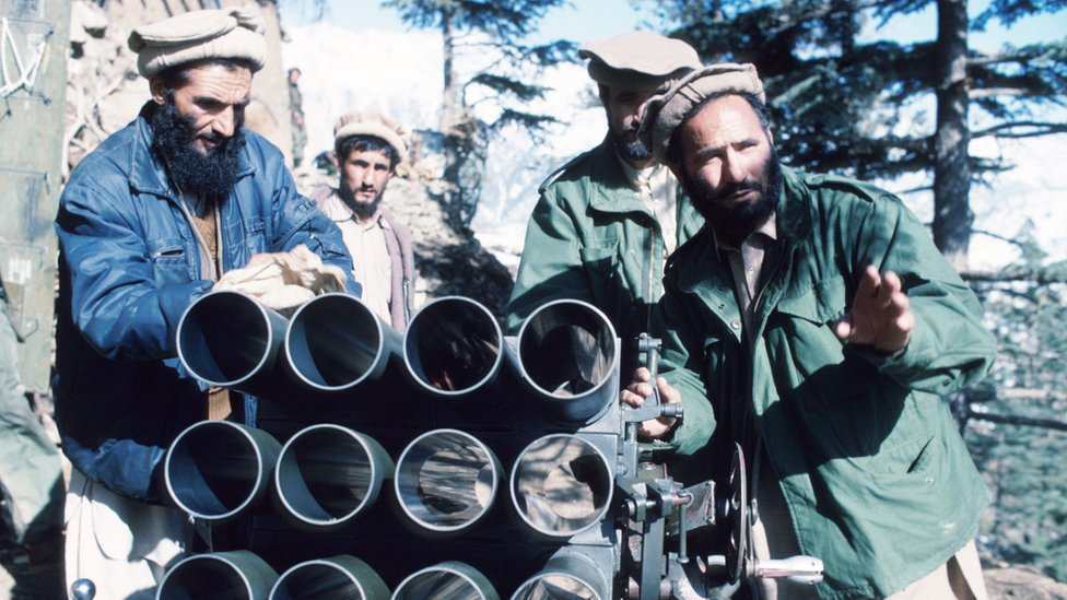 Muyahidines afganos