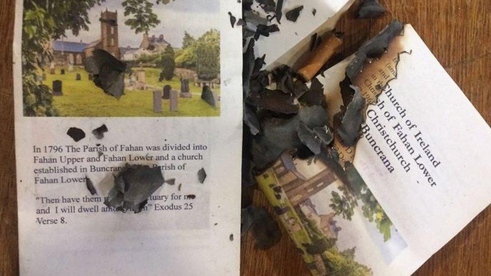 Vandalism forces Buncrana church to close its doors