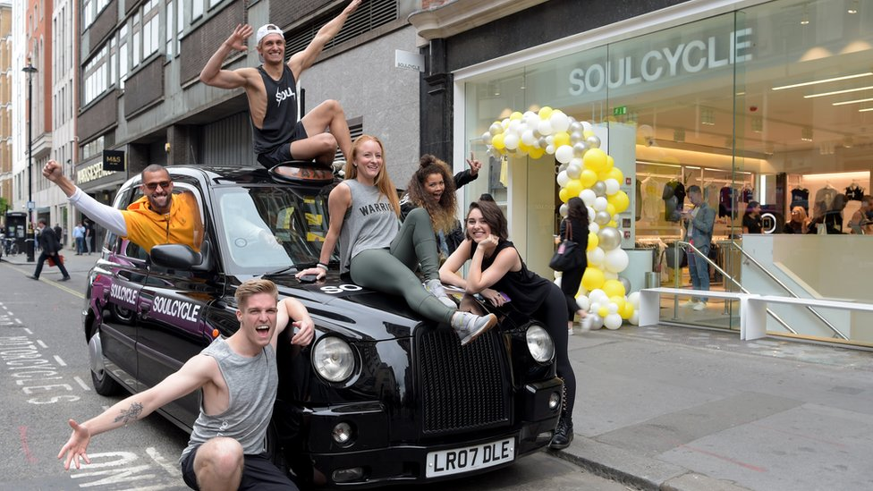 SoulCycle's London launch