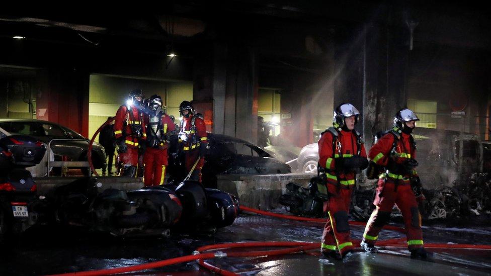 Vatrogasci u akciji