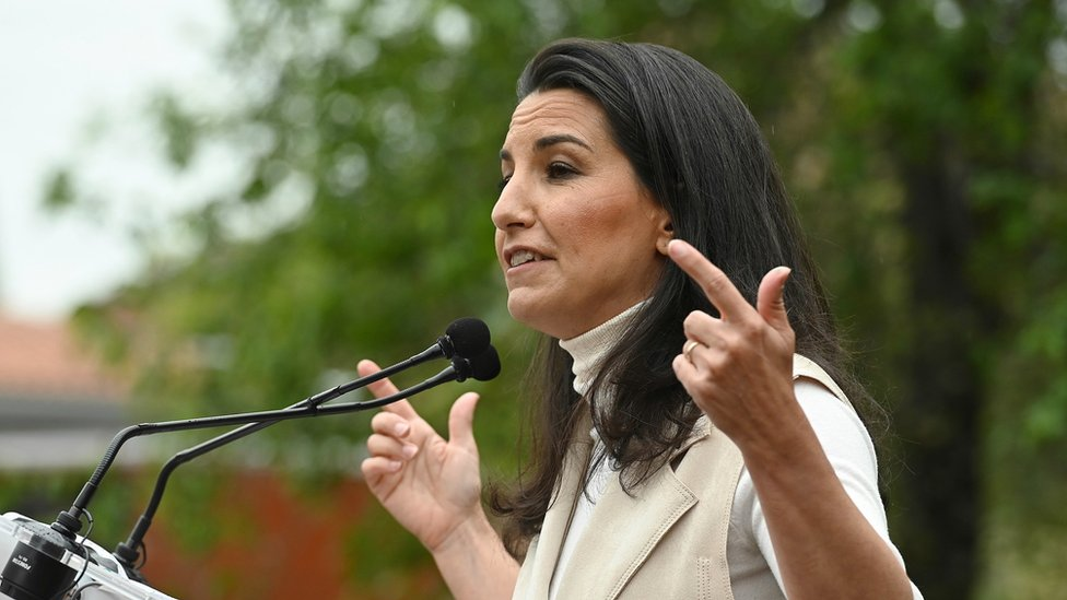 Rocío Monasterio, candidata a la presidencia de la Comunidad de Madrid por Vox