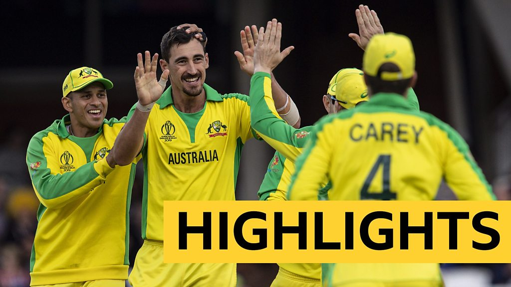 Cricket World Cup highlights: Australia beat Sri Lanka by 87 runs