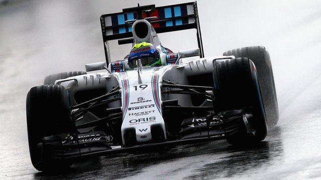 Felipe Massa was fastest in practice two