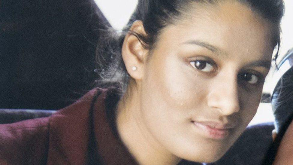 شميمة بيغوم كان في الخامسة عشرة في لندن عندما غادرت المملكة المتحدة عام 2015.