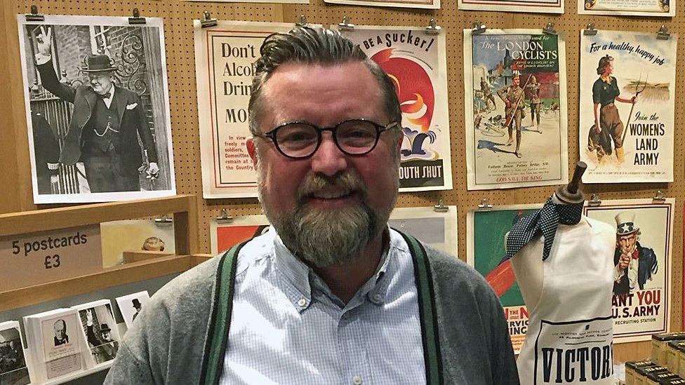 David Fenton, head of retail at Imperial War Museum, London
