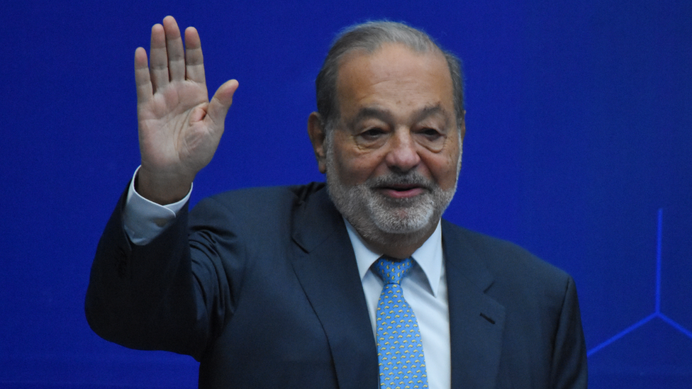 Carlos Slim, agosto de 2018