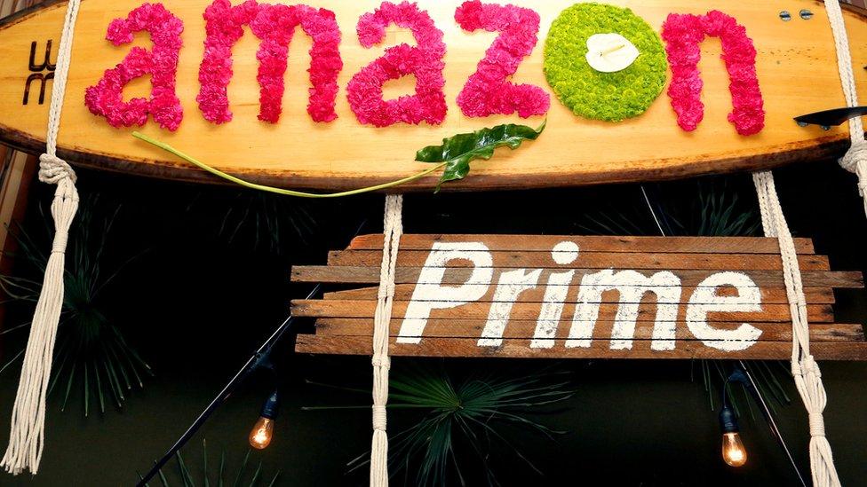 Amazon prime sign