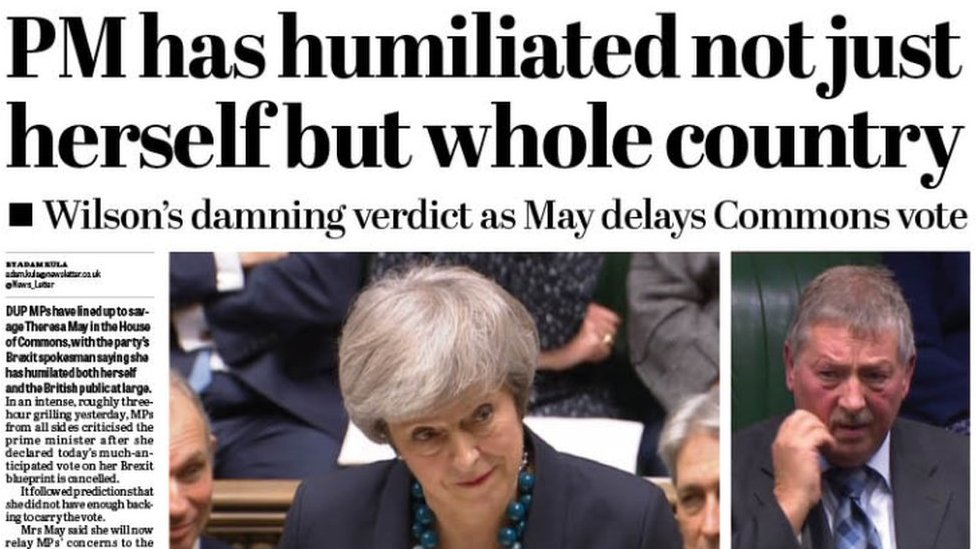 Tuesday's headlines: Avoiding disaster or national humiliation?