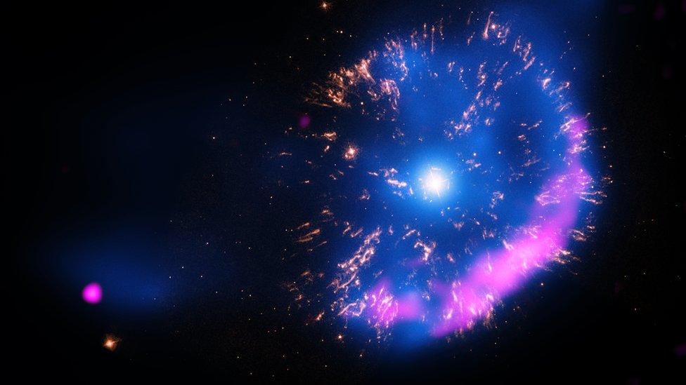 Explosión de una estrella