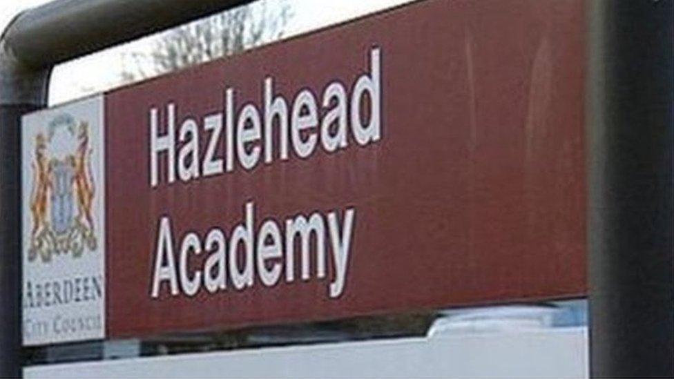Asbestos found at Hazlehead Academy in Aberdeen during work
