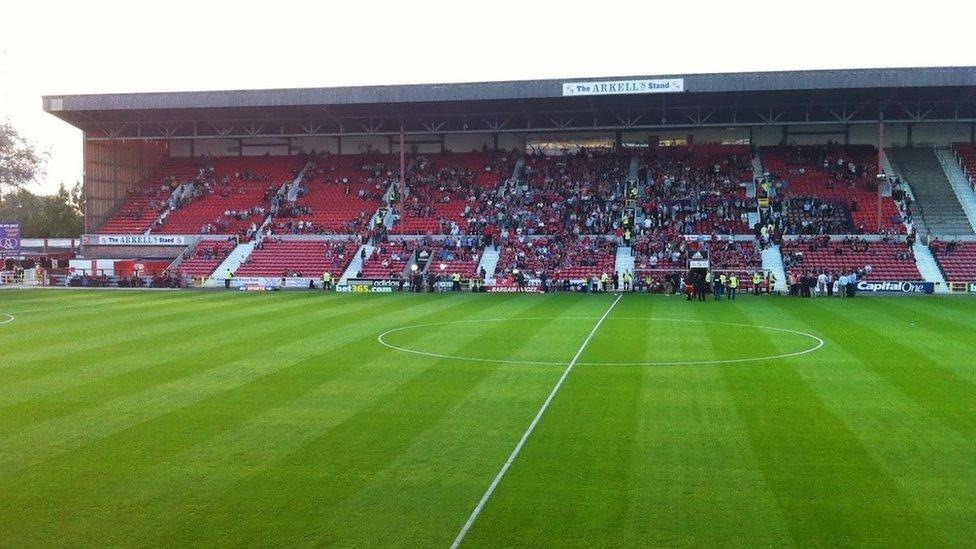Swindon Town Supporters Bid To Buy County Ground Stadium Bbc News