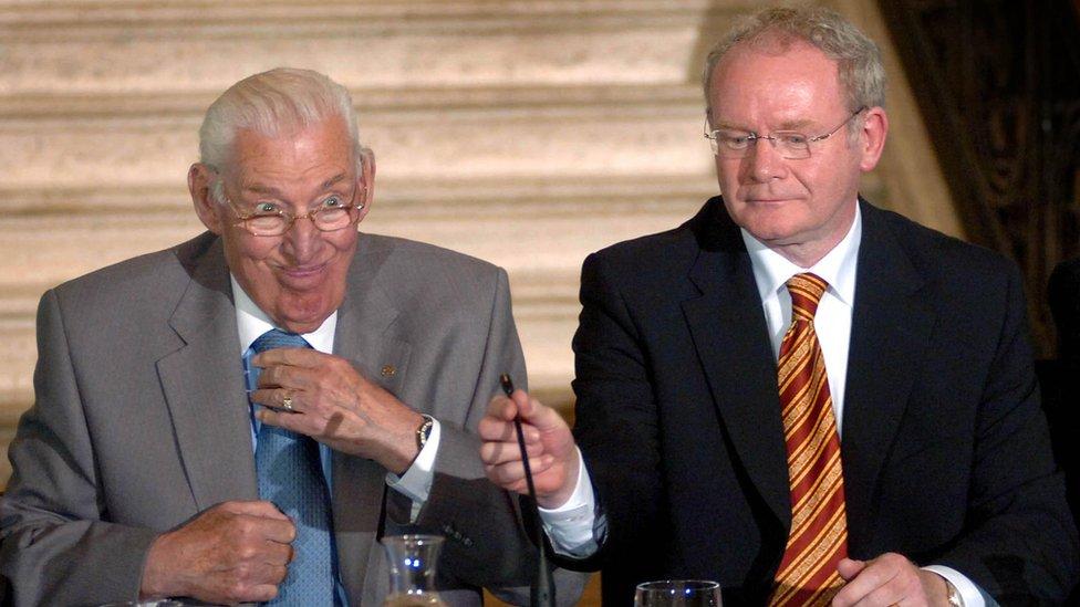 Ian Paisley and Martin McGuinness
