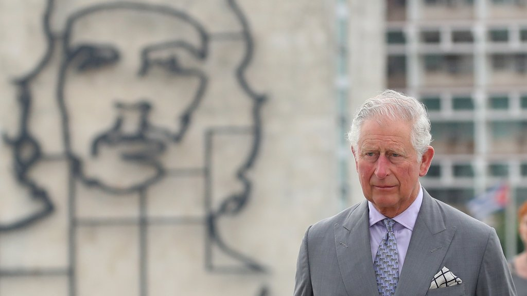 Prince Charles and Camilla make historic trip to Cuba