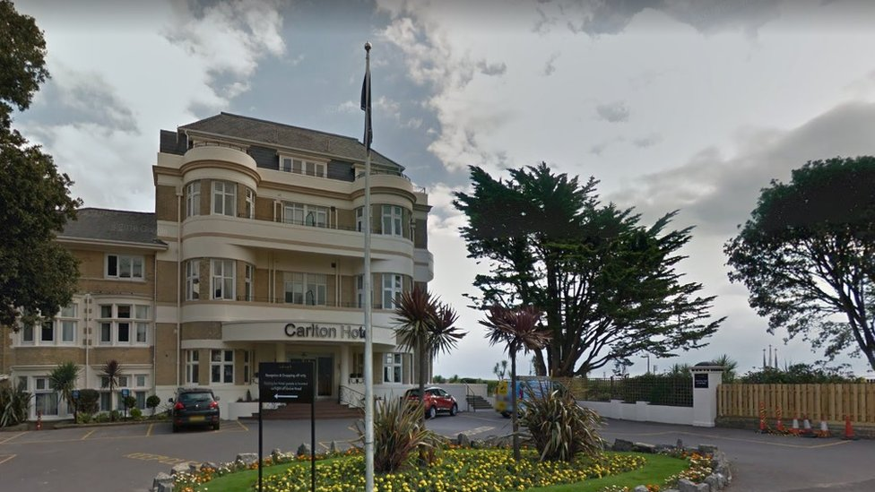 Bournemouth hotel attack: Man charged over stabbing