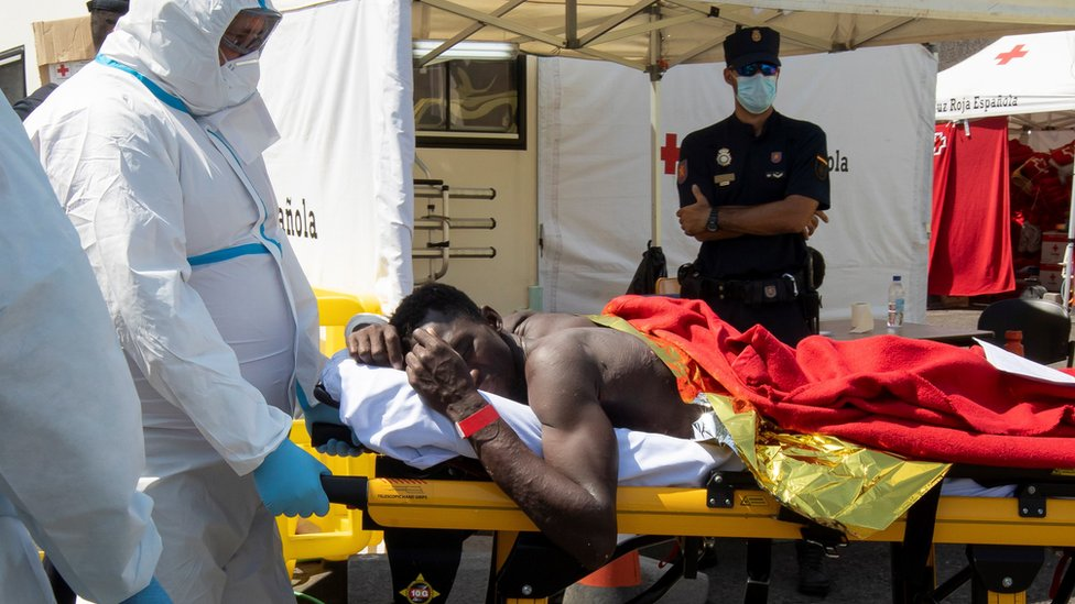 Spain's Canary Islands see new influx of African migrants thumbnail
